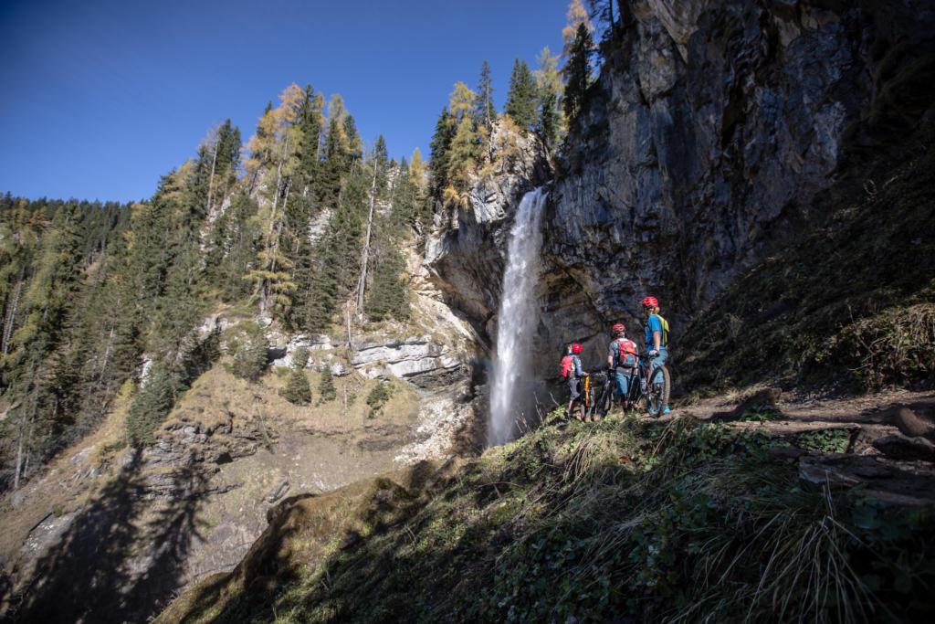 Mountainbike-Tour Stoneman Taurista MTB Johanneswasserfall Salzburger Land (Österreich)