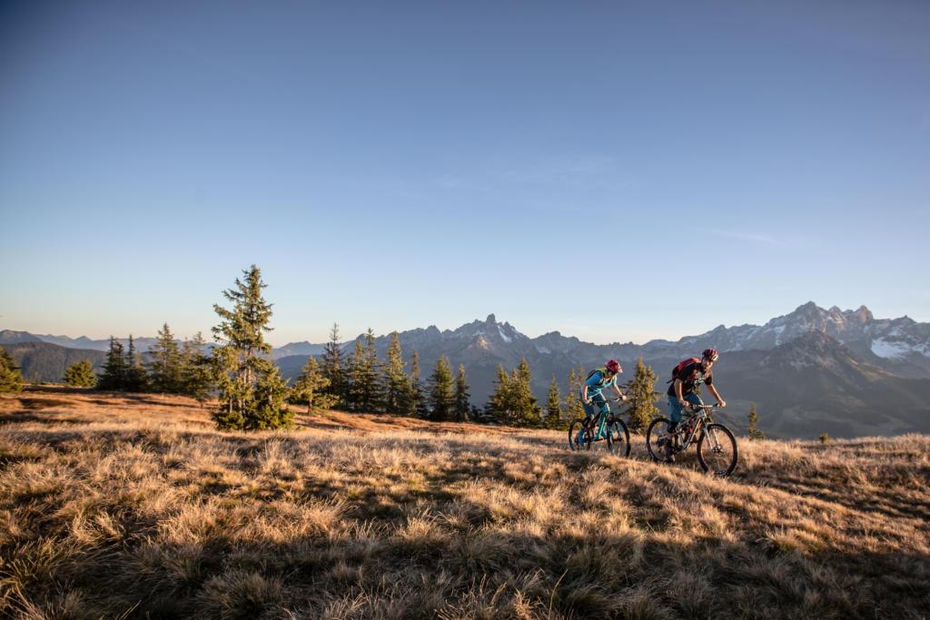 Mountainbike-Tour Stoneman Taurista MTB Rossbrand Salzburger Land (Österreich)