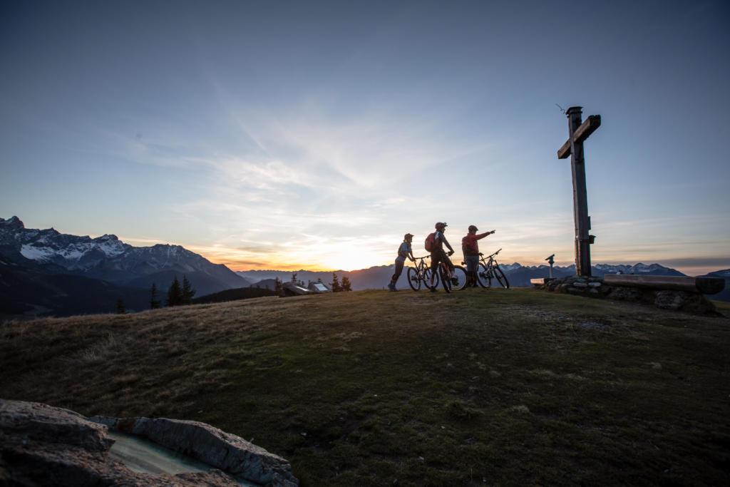 Stoneman Taurista Mountainbike (Salzburger Land, Österreich) - mit dem Mountainbike zwischen Edelweißalm und Rossbrand.