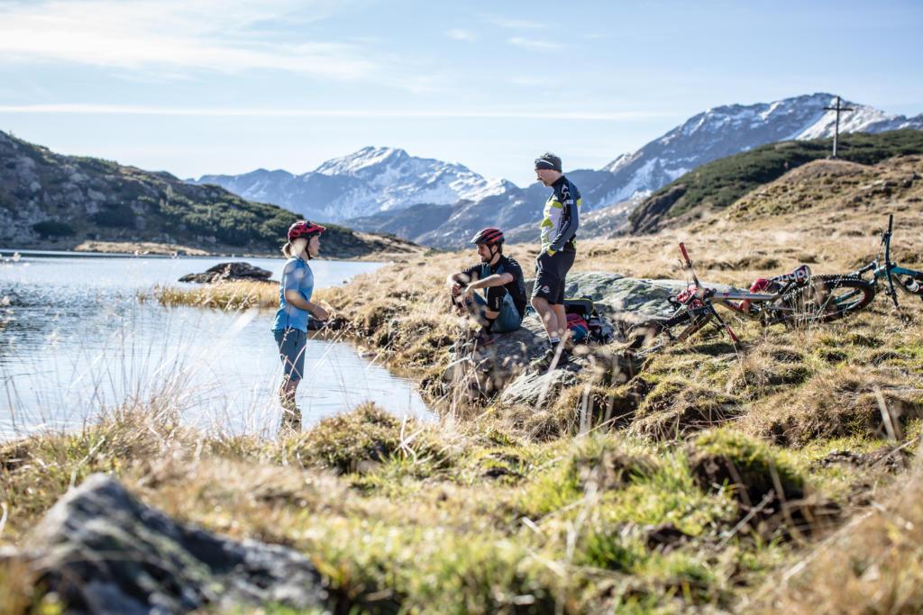 Stoneman Taurista Mountainbike (Salzburger Land, Österreich) - mit dem Mountainbike zwischen Oberhütte-Johanneswasserfall.