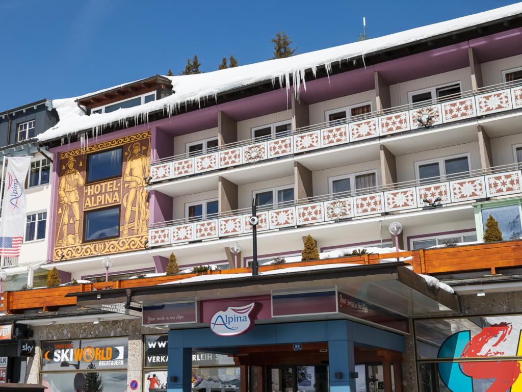 Hotel Alpina, city – Logis-Partner Stoneman Taurista MTB