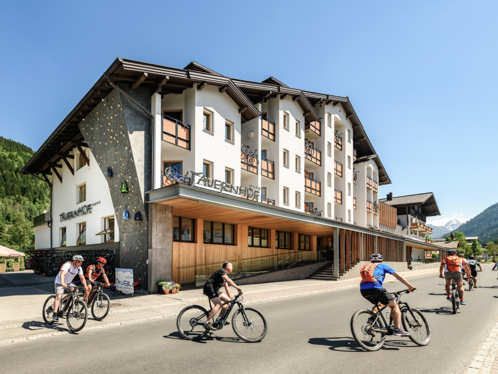 Funsport-, Bike- und Skihotel Tauernhof, city – Logis-Partner Stoneman Taurista MTB
