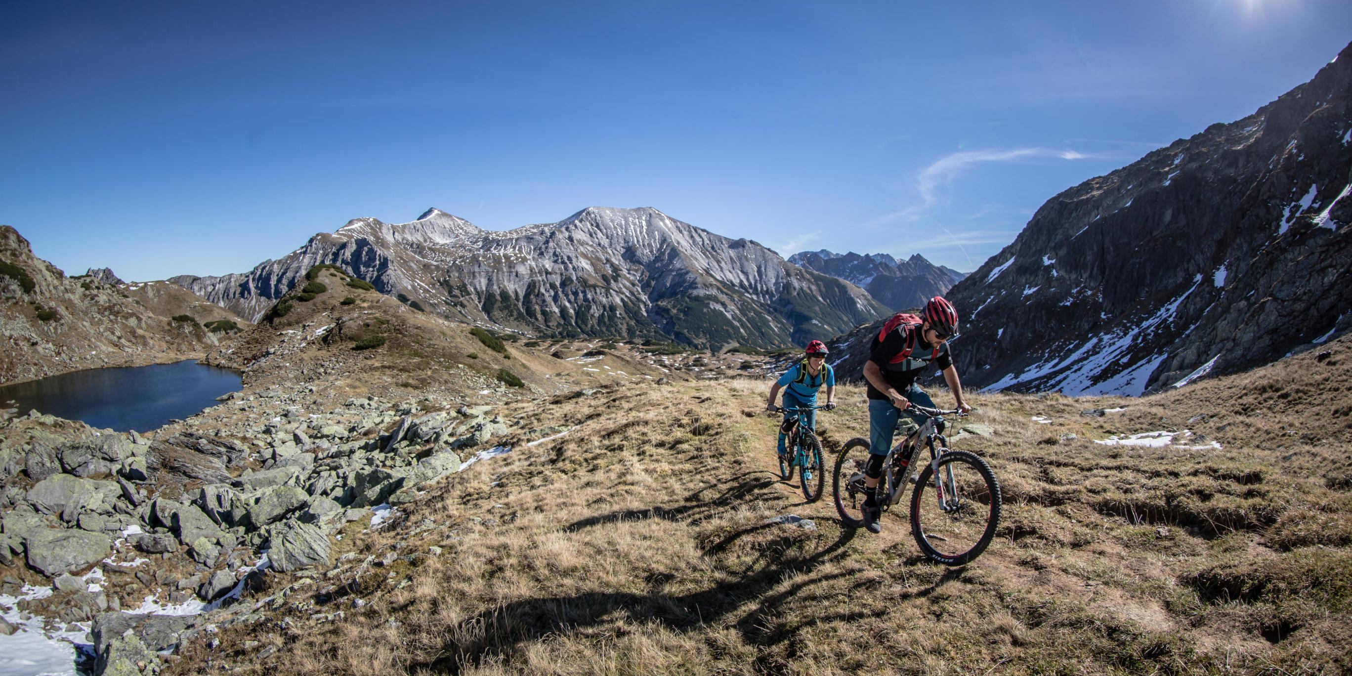 Mountainbike-Tour Stoneman Taurista MTB echte Alpenpass-Querung Oberhütte nach Obertauern Salzburger Land (Österreich)