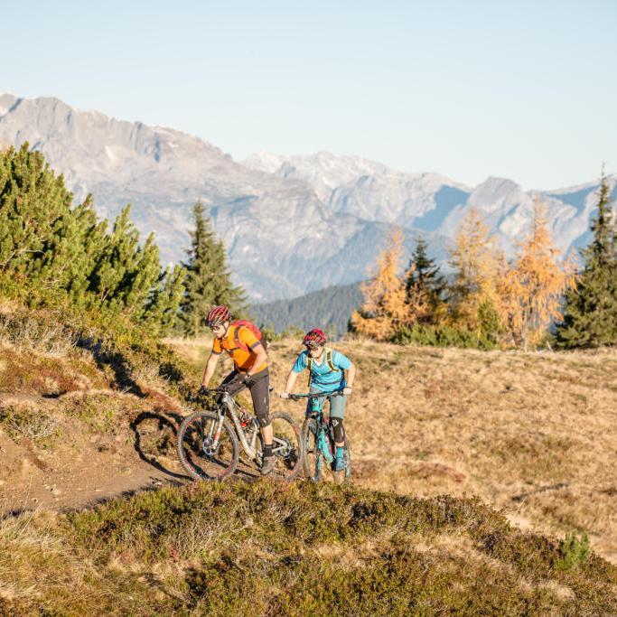 Mountainbike-Tour Stoneman Taurista MTB Sattelbauer zum Grießenkar Salzburger Land (Österreich)