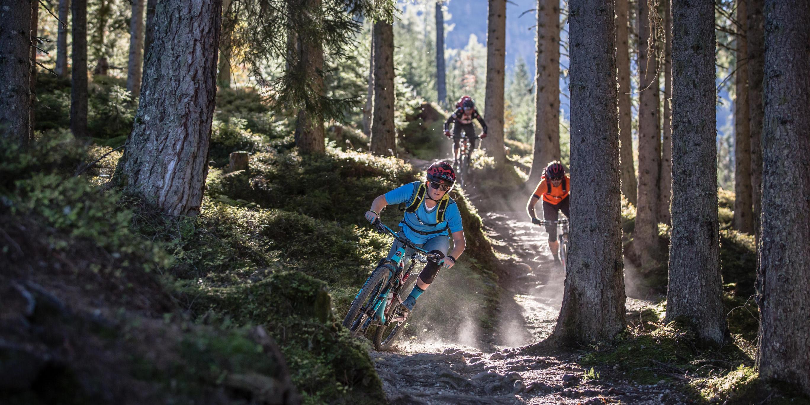 Mountainbike-Tour Stoneman Taurista MTB Trail-Abfahrt vom Grießenkar Salzburger Land (Österreich)